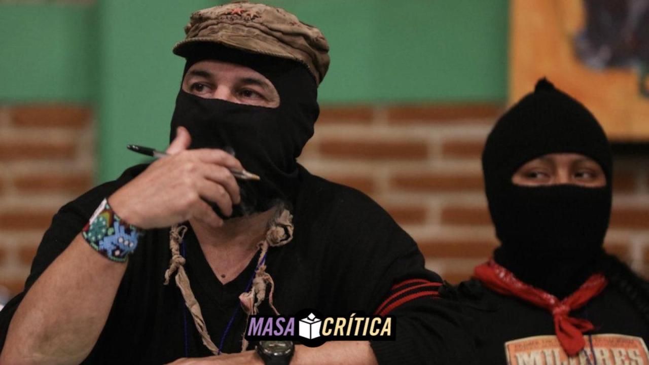 EZLN dice que 'ellos' no permitirán el triunfo de AMLO