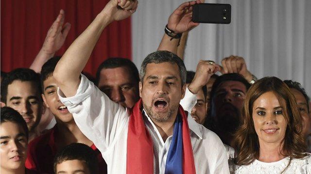 Gana Mario Abdo elecciones presidenciales en Paraguay
