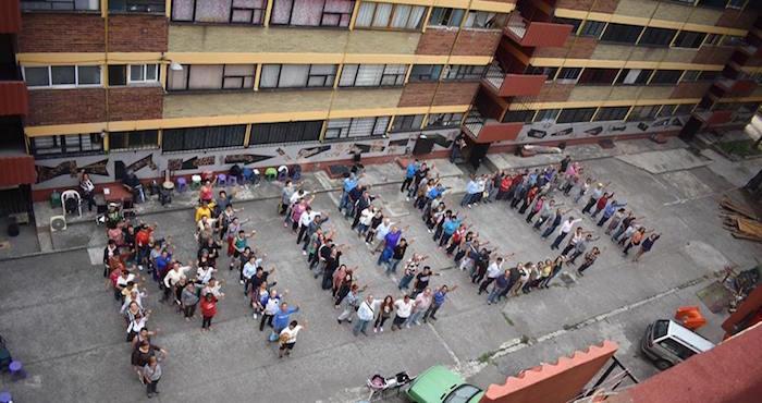 Damnificados de Multifamiliar cierran Tlalpan