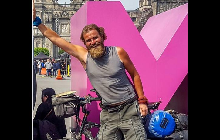 Ciclista alemán desapareció en Chiapas; familia y ciclistas piden ayuda encontrarlo
