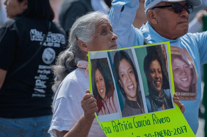 Madres de desaparecidos se suman a Marcha por la Dignidad Nacional