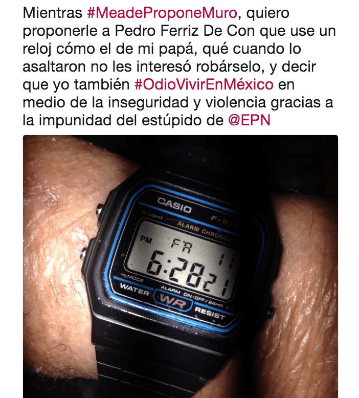 Pedro Ferriz de Con tras ser asaltado