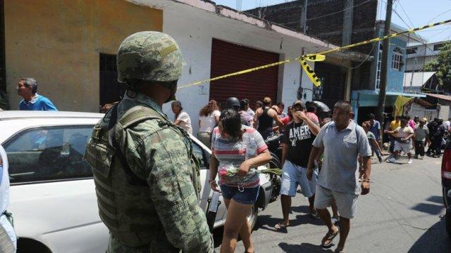 Un candidato y tres soldados mueren en Coyuca, Guerrero