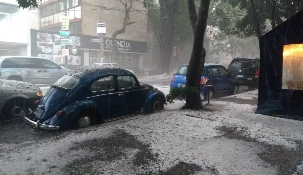 granizada en cdmx, deja inundaciones graves