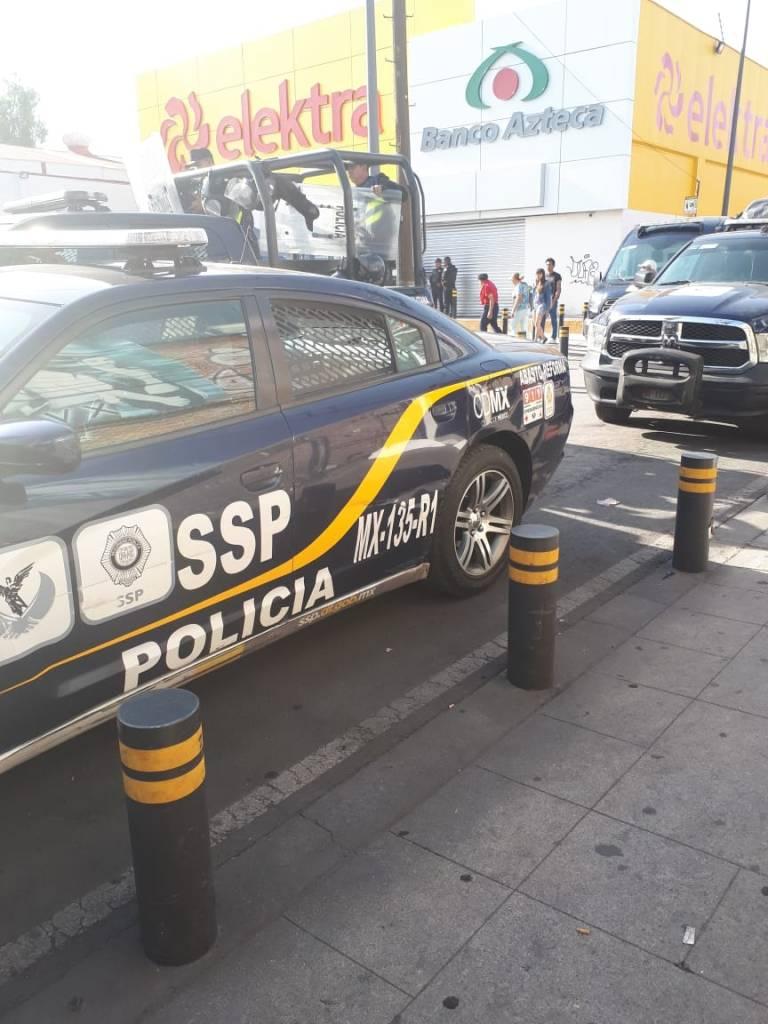 Asalto Elektra Iztapalapa Muerto Asaltante Policía San Felipe