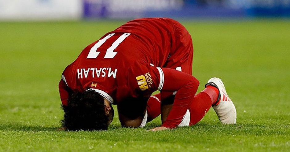 Mohamed Salah combate a la islamofobia Reino Unido