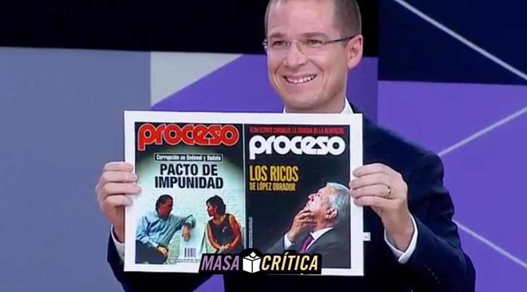Anaya aceptó que su equipo editó las portadas de Proceso