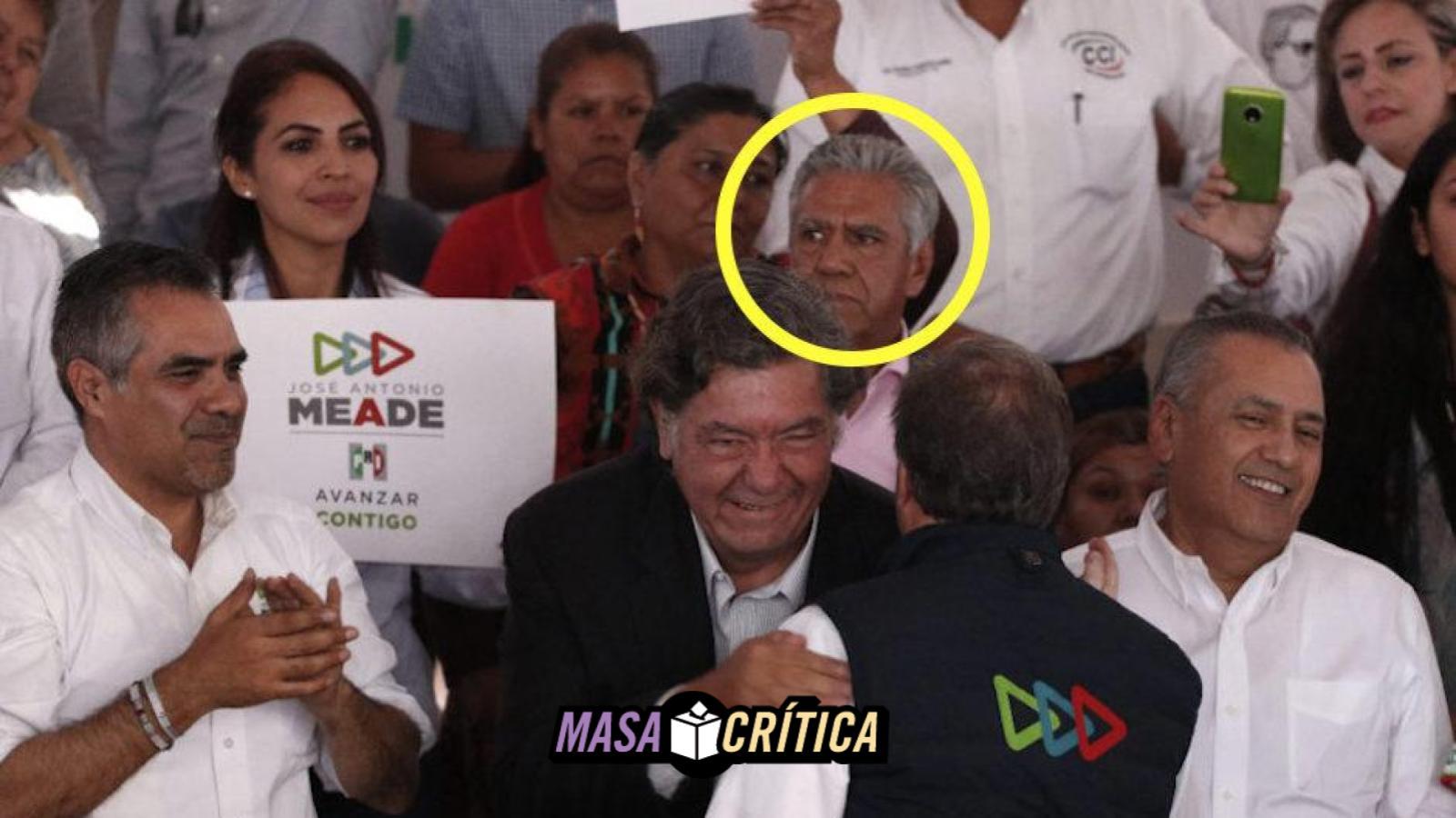Meade sí aparece junto al asesino del periodista 'Gato' Félix: Verificado 2018