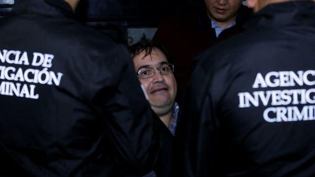 En audiencia por nuevos cargos, juez regaña a Duarte por estar inquieto