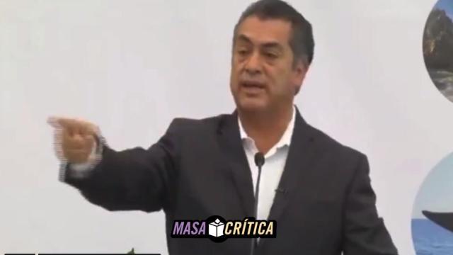 'No sean zacatones', dice El Bronco a quienes no quieren 'mochar manos'