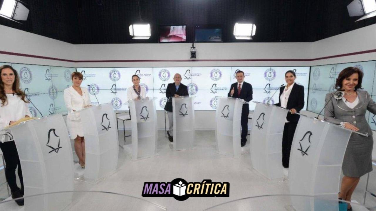 Ataques y señalamientos, ¿lo rescatable del segundo debate por la CDMX?