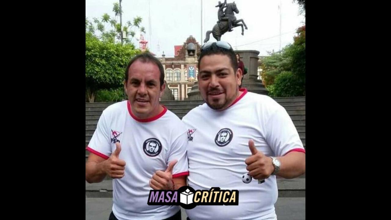 Cuauhtémoc Blanco tiene un acusado de homicidio en su campaña