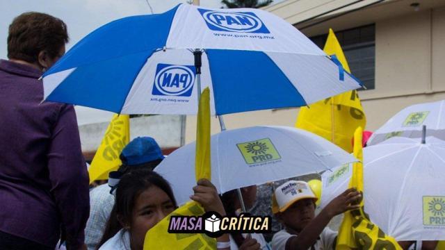 Maestros de Puebla denuncian que son obligados a hacer campaña por PAN-PRD