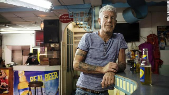 Murió Anthony Bourdain a los 61 años