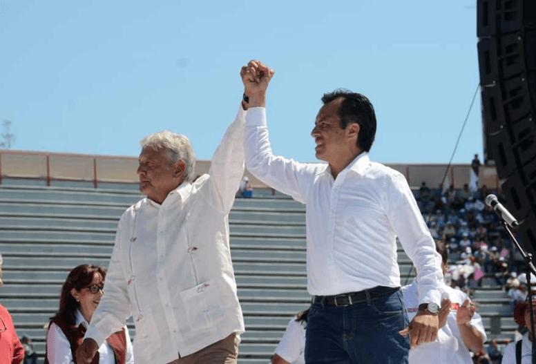 Encuesta Reforma Veracruz Yunes Cuitláhuac Empate