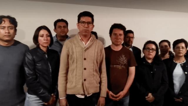 Damnificados de Multifamiliar Tlalpan denuncian agresiones en su contra