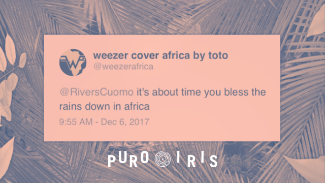 Rivers Cuomo Weezer Africa toto