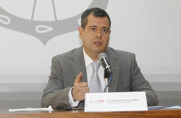 José Ramón Amieva, Jefe de Gobierno de CDMX