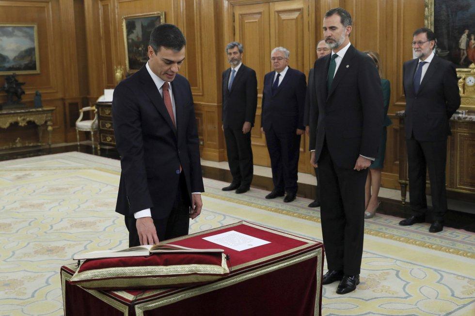 Pedro Sánchez Presidente de España Socialista