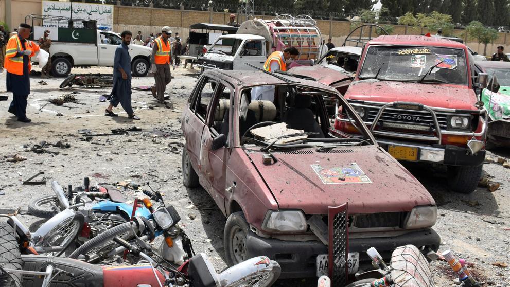 Atentados en Pakistán y Siria: 131 muertos en total