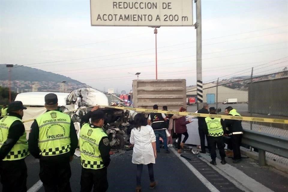 Comi choca en la México Pachuca: 12 muertos y 5 heridos