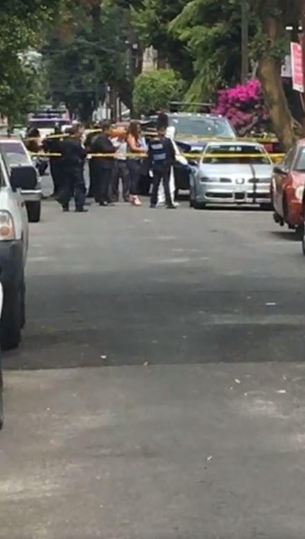Coche Cuerpos Muertos Colonia Obrera Seat