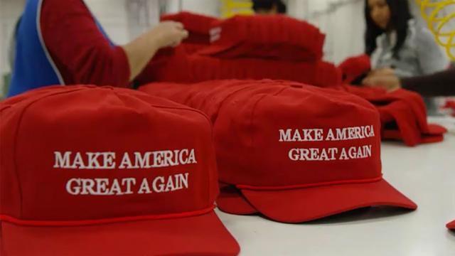 Guerra comercial  las gorras de Trump suben de precio porque se ... 7a2ab6c6c70