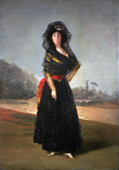 Duquesa de Alba, hispanic society, Goya