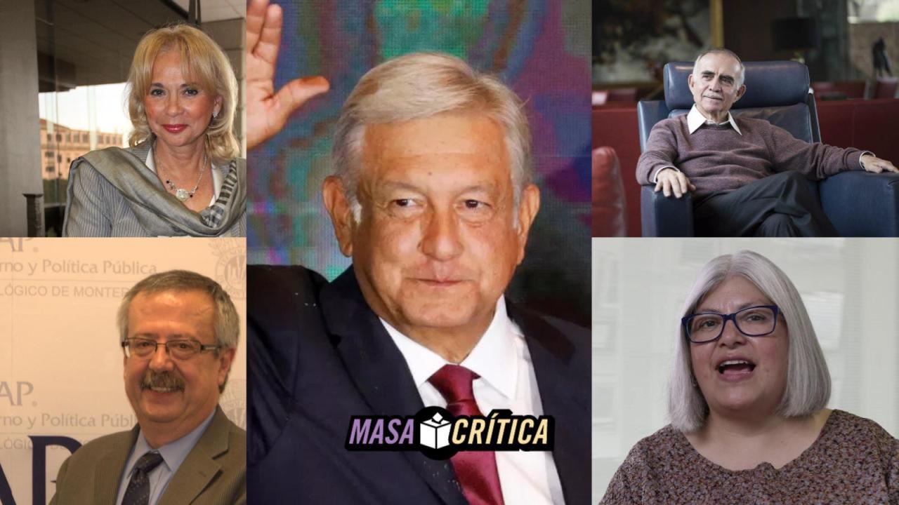 ¿Quiénes son los integrantes del equipo de López Obrador?