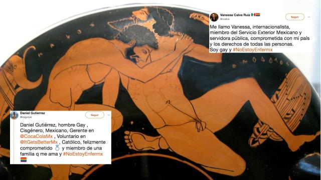 #NoEstoyEnfermx: homosexualidad no se 'cura', gracias a Dios
