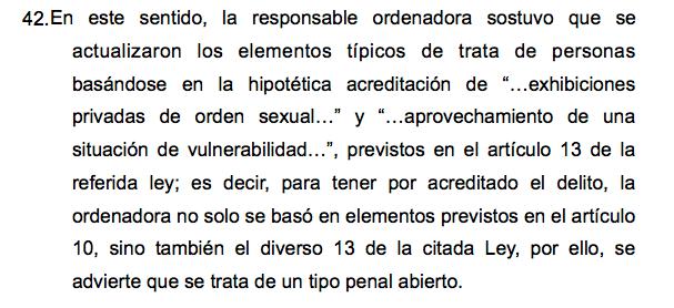 Artículo 42 de amparo ante SCJN