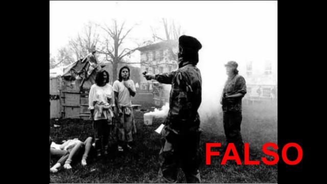 FALSO: En esta foto no está el Che ejecutando gente