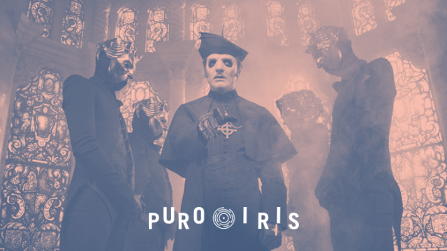Ghost Reseña Puro Iris Satanismo Pop Metal