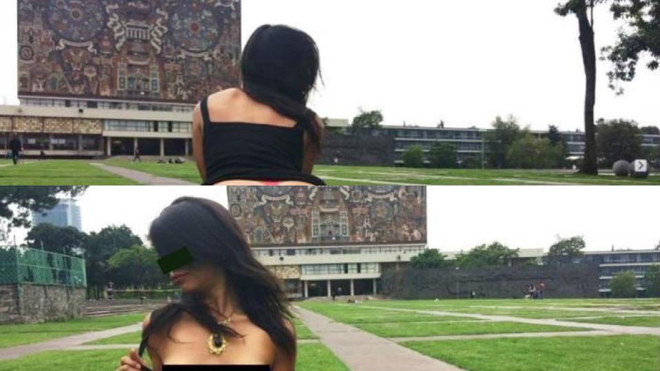 Fotografías Eróticas CU UNAM Faltas Moral Contaduría