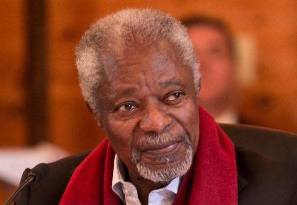 Kofi Annan Biografía Fallece suiza ONU Nobel Paz