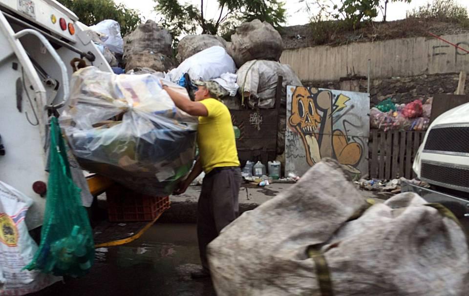Cómo se recoge basura en CDMX
