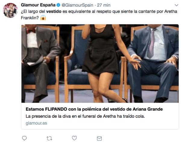 Ariana Grande, Vestido, Aretha Franklin