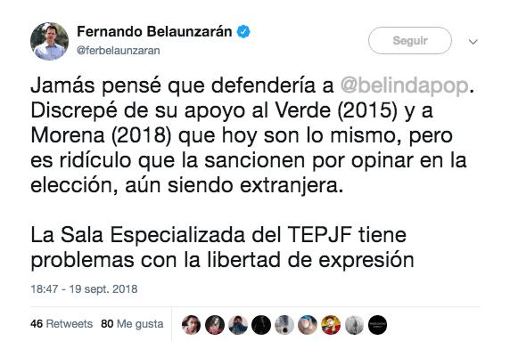 Belinda Mexicana Curp Española 33