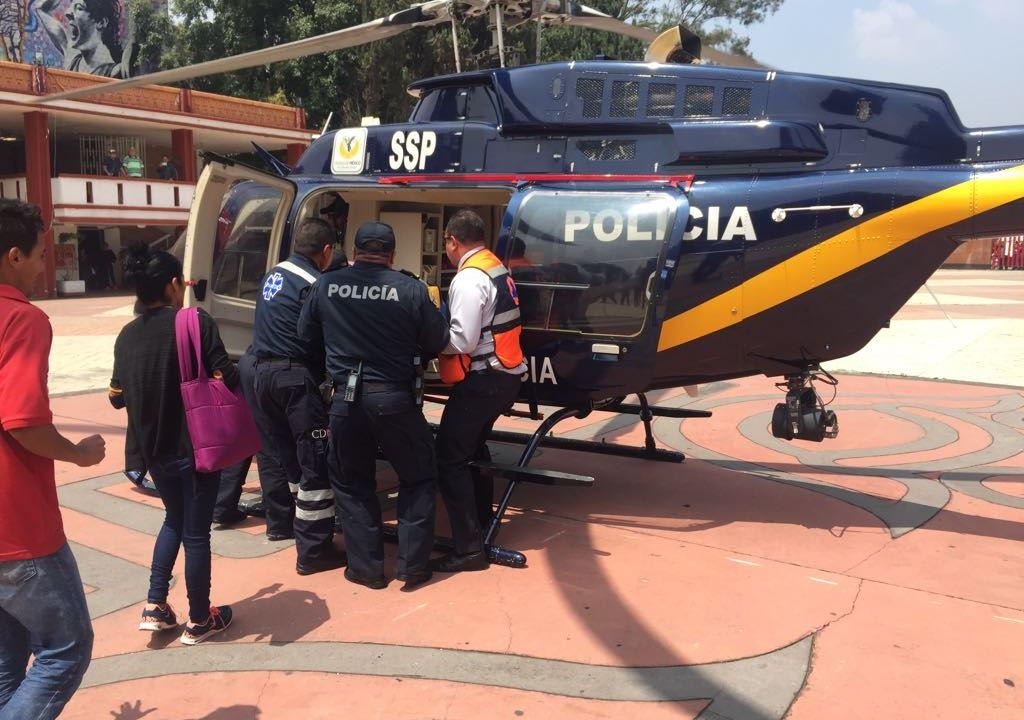 Mujer resulta herida durante mega simulacro en Xochimilco