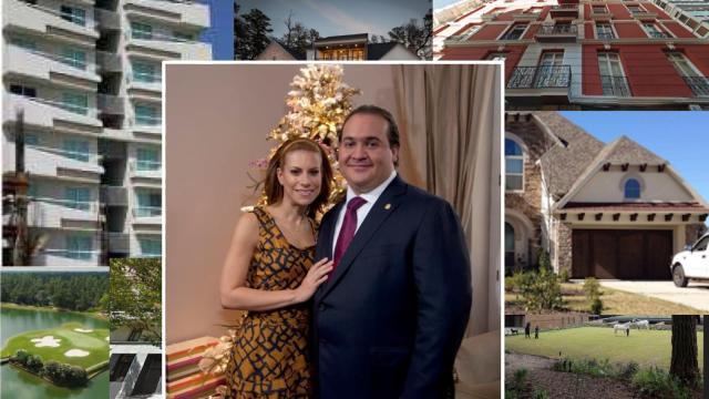 Todas las propiedades de Javier Duarte y Karime