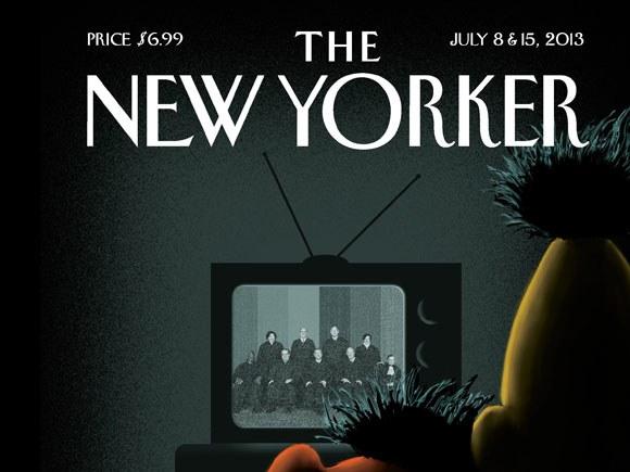 Portada del New Yorker en 2013 tras aprobación del matrimonio igualitario en EEUU