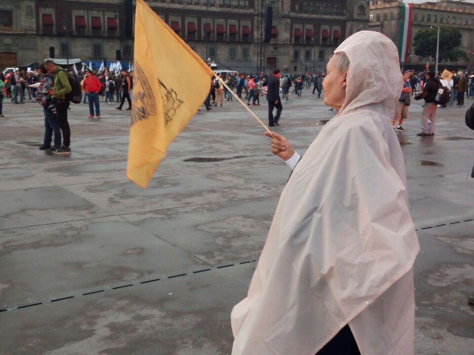 La Marcha del Silencio llega al Zócalo