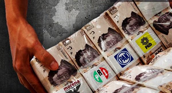 Morena propone reducir a la mitad presupuesto de partidos