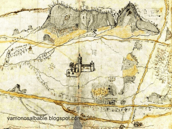 Primeros mapas de asentamientos de la Nueva España en Guanajuato