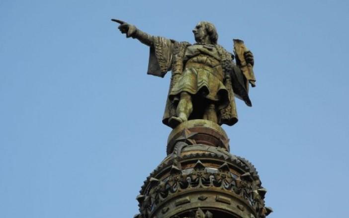Monumento a Colón en glorieta de Reforma