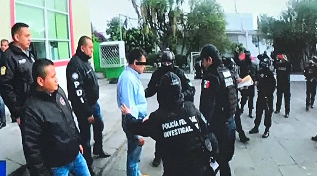 PGR detiene a presunto violador de kínder de Aragón