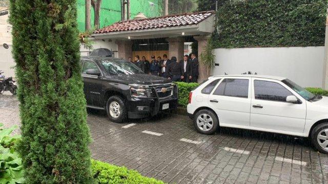 Balacera frente a casa de Norberto Rivera