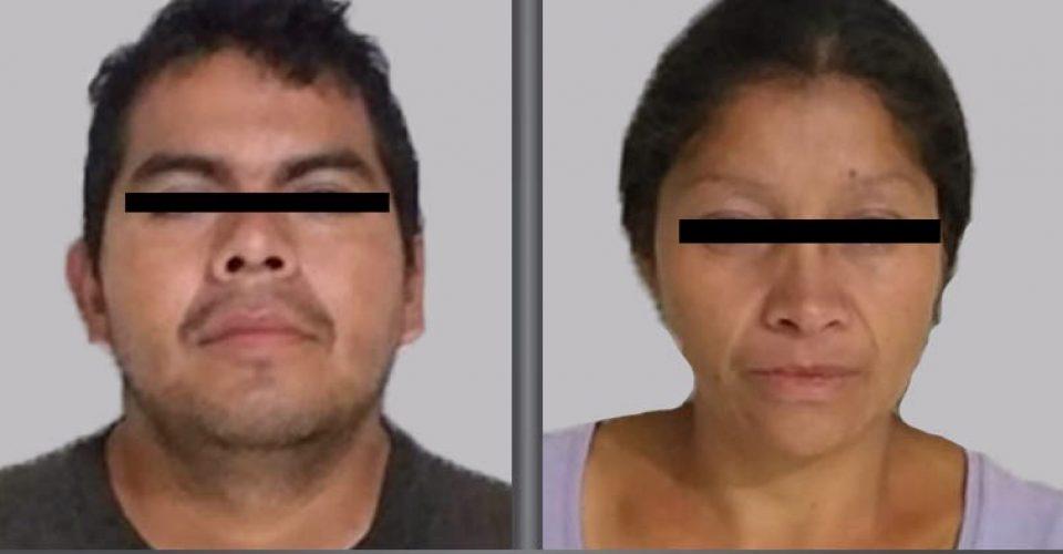 Detienen a pareja por vínculo con 20 feminicidios en Edomex