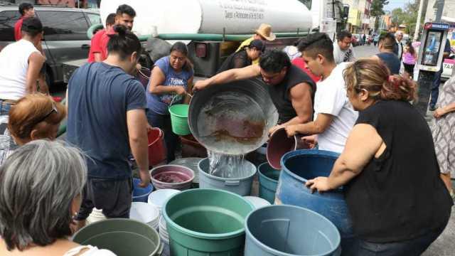 CDMX tiene abasto de agua hasta 2019