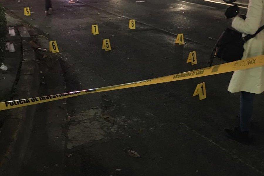 Balacera en la Del Valle: un policía herido